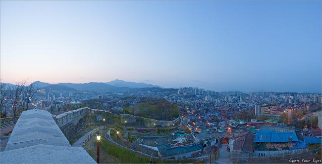 [파노라마] 서울성곽