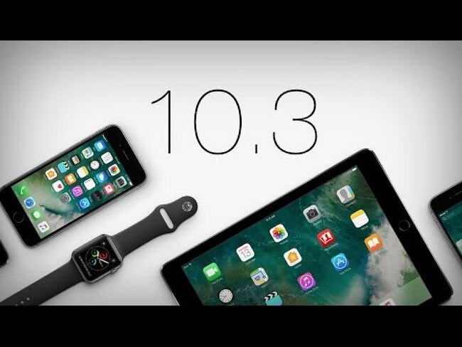 iOS10.3, macOS 10.2.4 베타 개발자용 출시!