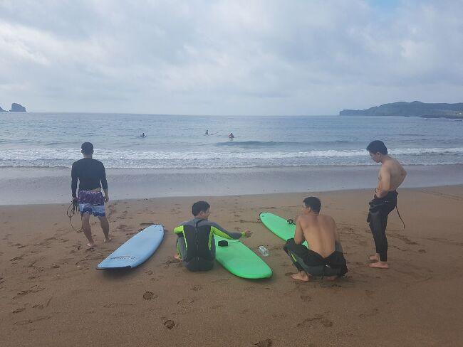 재능가게와 함께 한 즐거운 서핑수업!