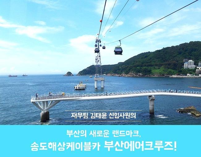 재무팀 신입사원의 <부산에어크루즈 소개>