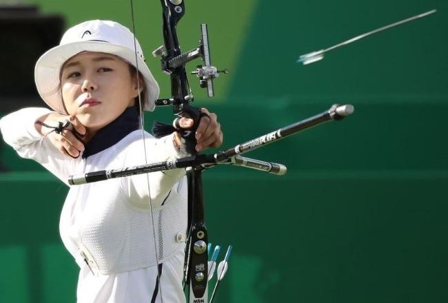 전국체전 양궁 장혜진 선수 예쁜 사진모음