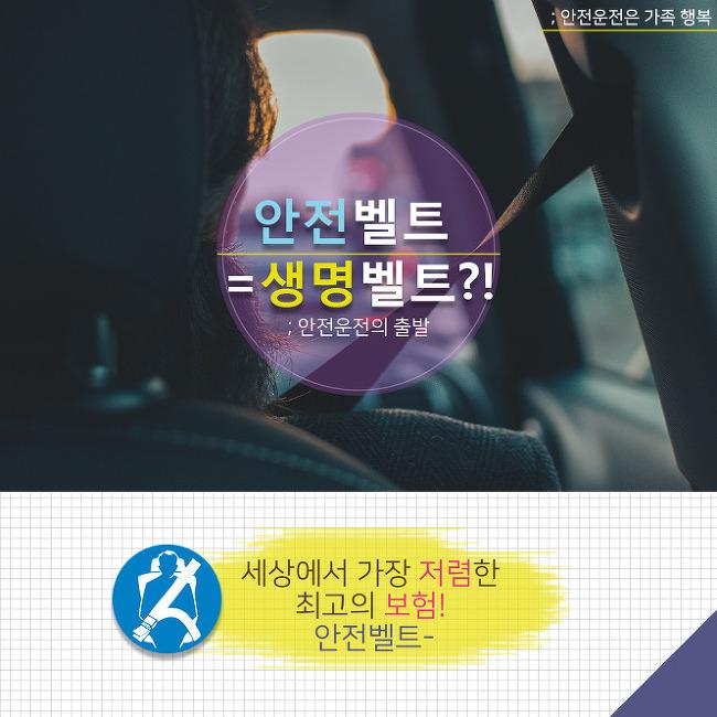 오늘도 안전운전 하세요!