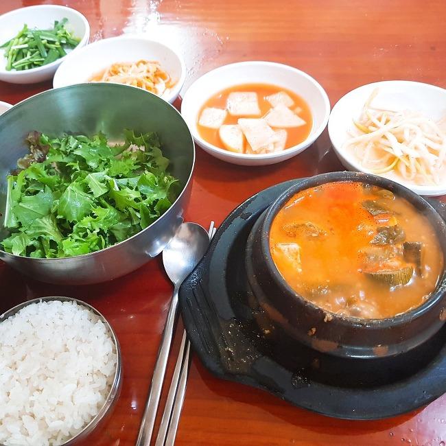 맛의 추억 보정 - 강남역 시골 야채 된장 :)