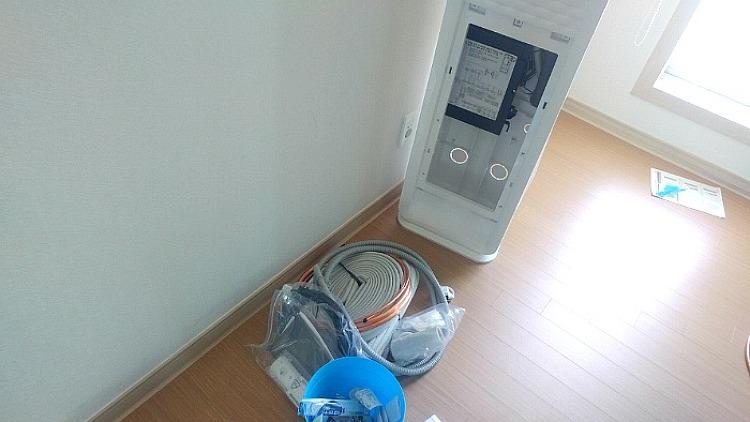 위니아 에어컨(WPVS16AWPH) 설치기 (2) 설치완료