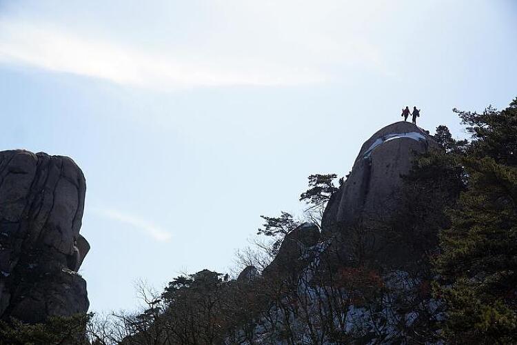 [토요산행] 도봉산 Y계곡 180217