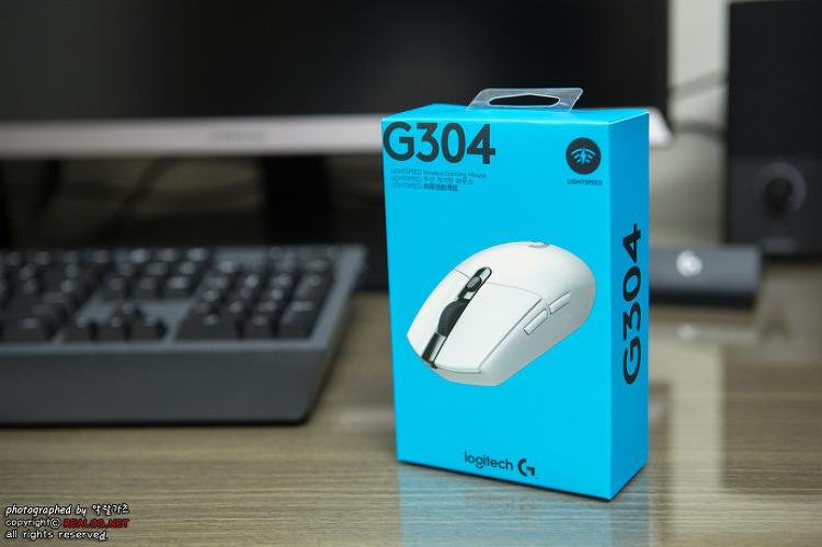 배틀그라운드 무선 마우스 추천! 로지텍 G304 화이트