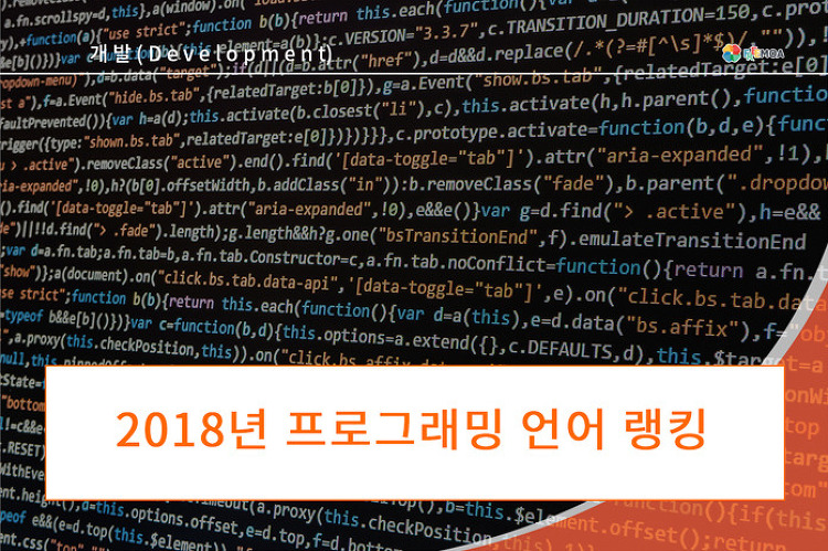 [개발] 2018년 프로그래밍 언어 랭킹