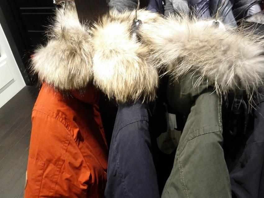 [색상 추가]빈폴 2012년 신상 야상 - 빈폴 개파카(Fur 장식 카키 짚업 후드 패딩점퍼) 소개!