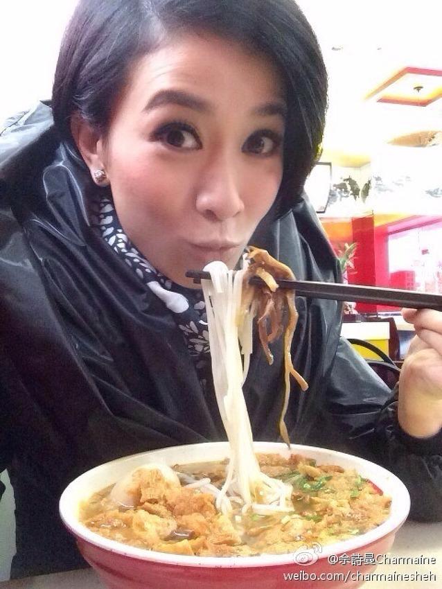 [TRANS] 140308 佘詩曼 Charmaine Sheh Weibo Update
