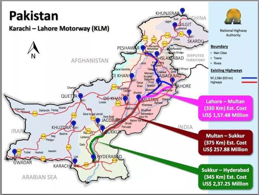[일대일로] 중국-파키스탄 고속도로 일부 구간 개통