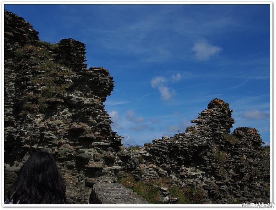 2017 영국 틴타겔 (Tintagel castle)