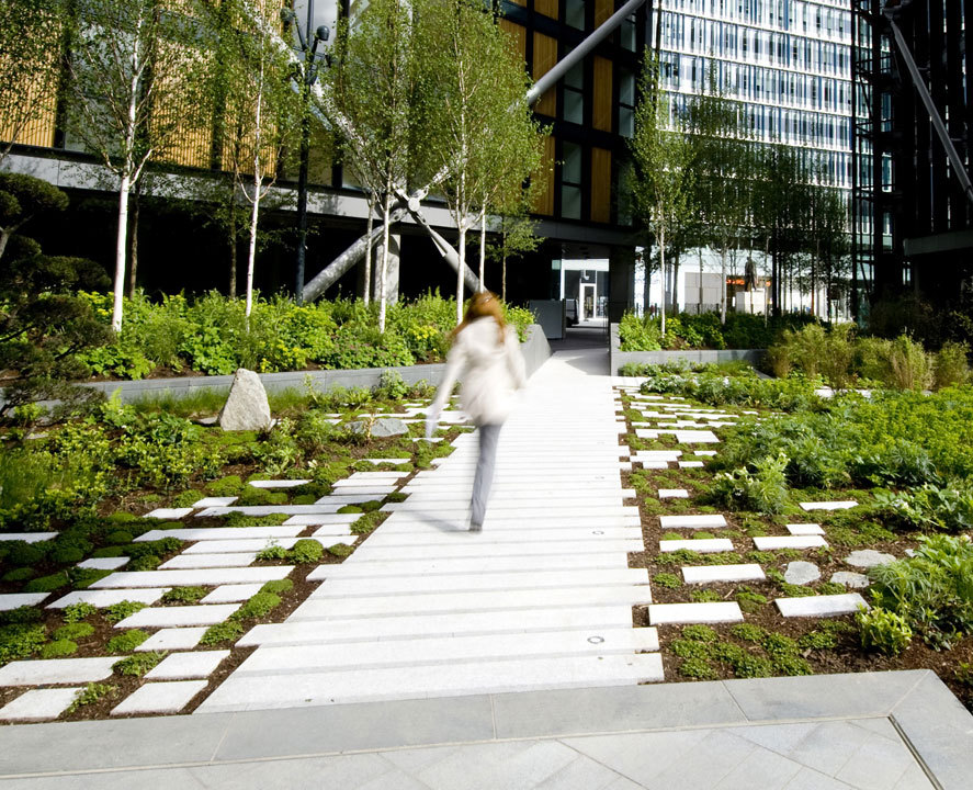 Gillespies neo bankside 5osa for Grid landscape design
