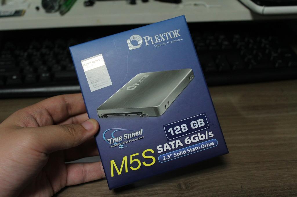 1년만의 컴퓨터 업그레이드, 플렉스터 M5S SSD