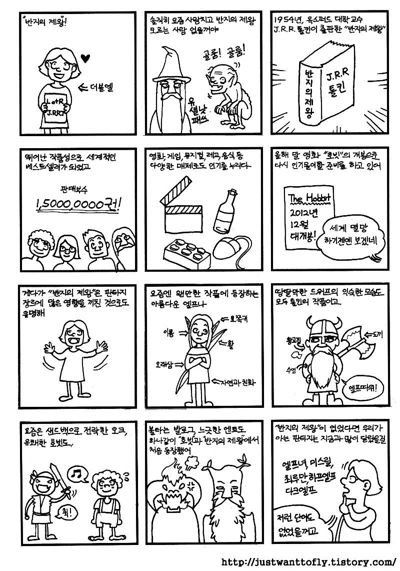 반지의 제왕 중간계 만화