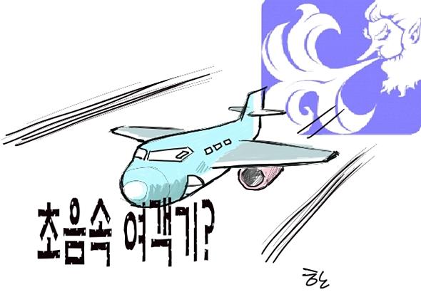 떄로는 일반 여객기도 초음속 비행기가 될 수도....
