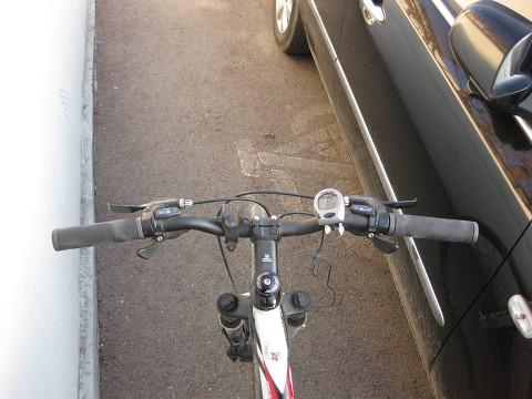 불편한 자전거 도로