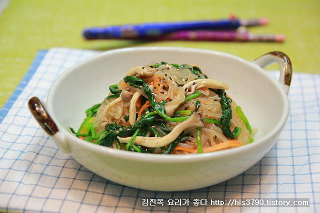 천고마비 계절~ 먹어도 부담없는 곤약채소잡채 *^^*