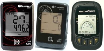 아센코리아 GPS 750, 751, 755