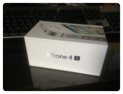 아이폰4s 박스