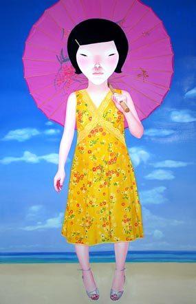 <Rosa Sonnenschirm> 이소연