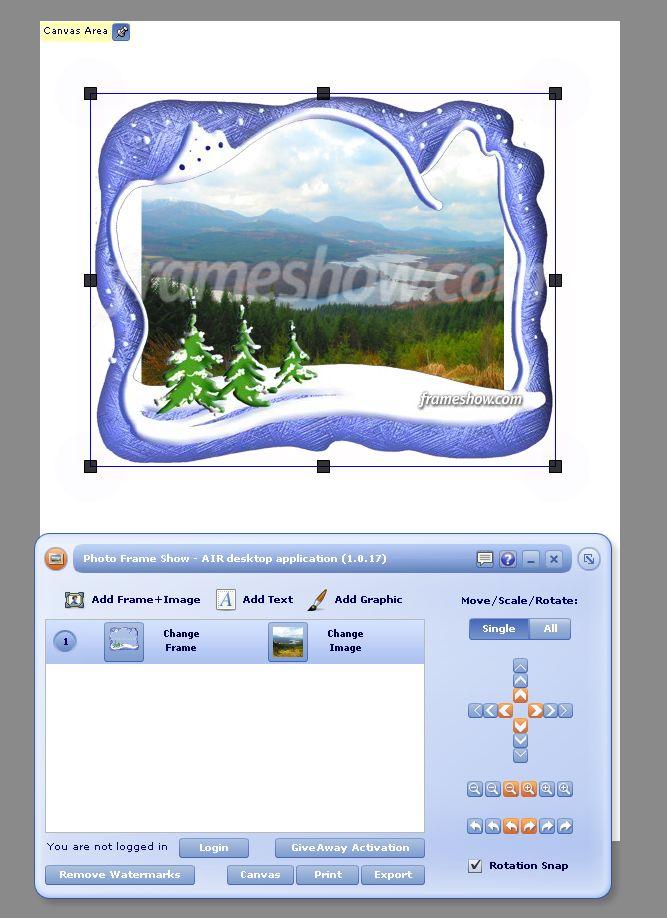 설치한 뒤 첫 실행 화면 1 - 기본 화면