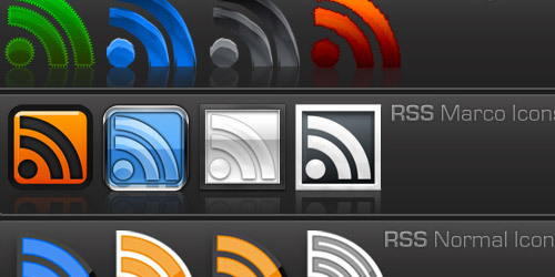 345 Free RSS Icons
