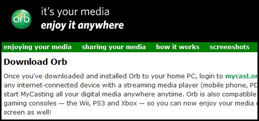 http://orb.com/en/download_orb 을 통해 오르브 설치 파일을 다운로드 합니다. 다운로드 페이지의 아래 쪽에서 한국어(korean) 버전을 받을 수 있게 되어 있습니다.