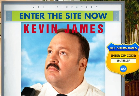 Paul Blart Splash Page