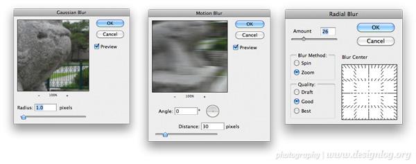 포토샵 실무에서 가장 많이 쓰이는 3가지 블러 필터(Blur Filter)