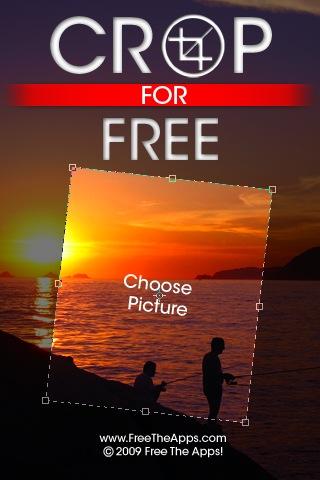 아이팟터치 아이폰 사진자르기 Crop for Free