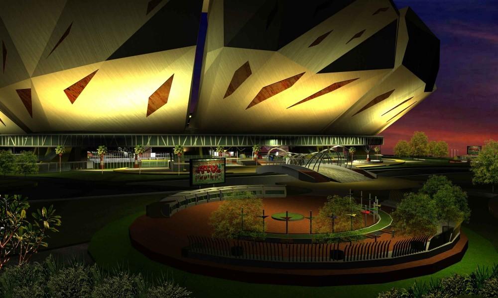Jakarta International Stadium Image: * 자카르타 스타디움 [ Atelier Cosmas Gozali ] BMW International