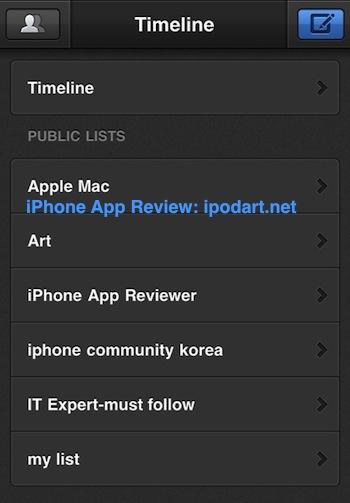 아이폰 트위터 Tweetbot