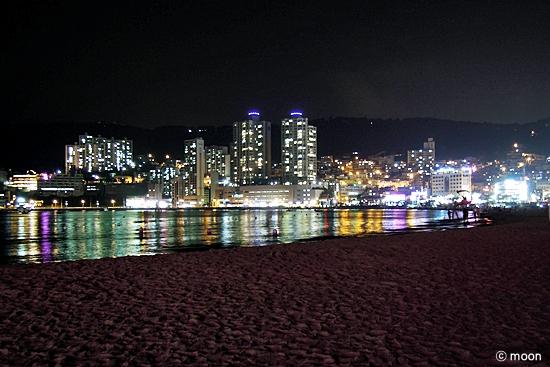 송도해수욕장 야경