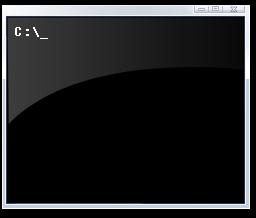 명령 프롬프트 아이콘(Command Prompt, CMD.EXE) © Microsoft
