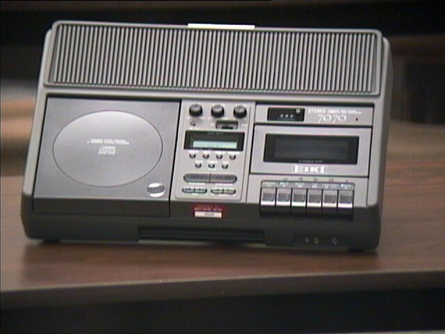 EIKI 7070 CD/Tape Player