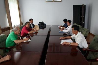 북한 농업과학원 회의