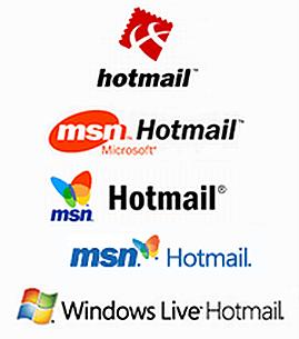 HotmailLogoEvolution