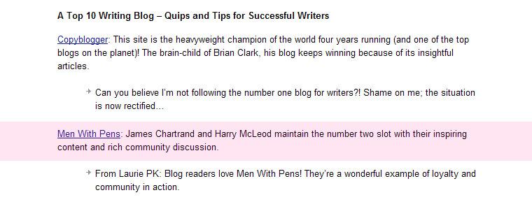 글쓰기에 도움되는 블로그