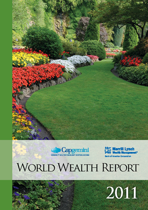 매년 Merrill Lynch와 Capgemini에서 발표하는 World Wealth Report 2011 자료입니다.