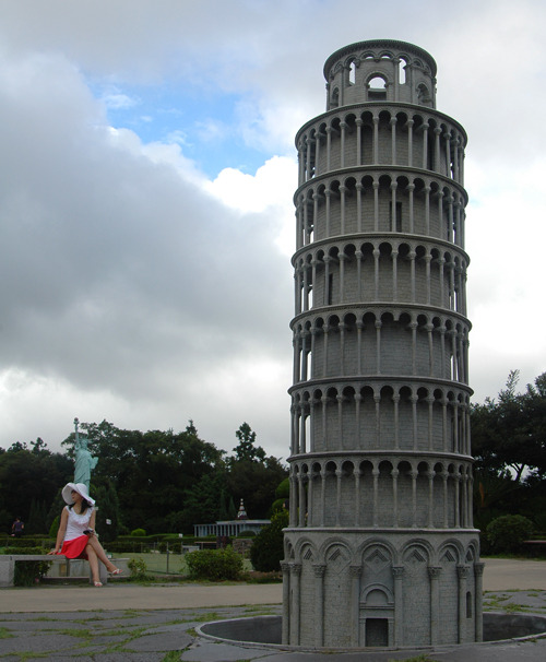 피사의 사탑 in 이탈리아