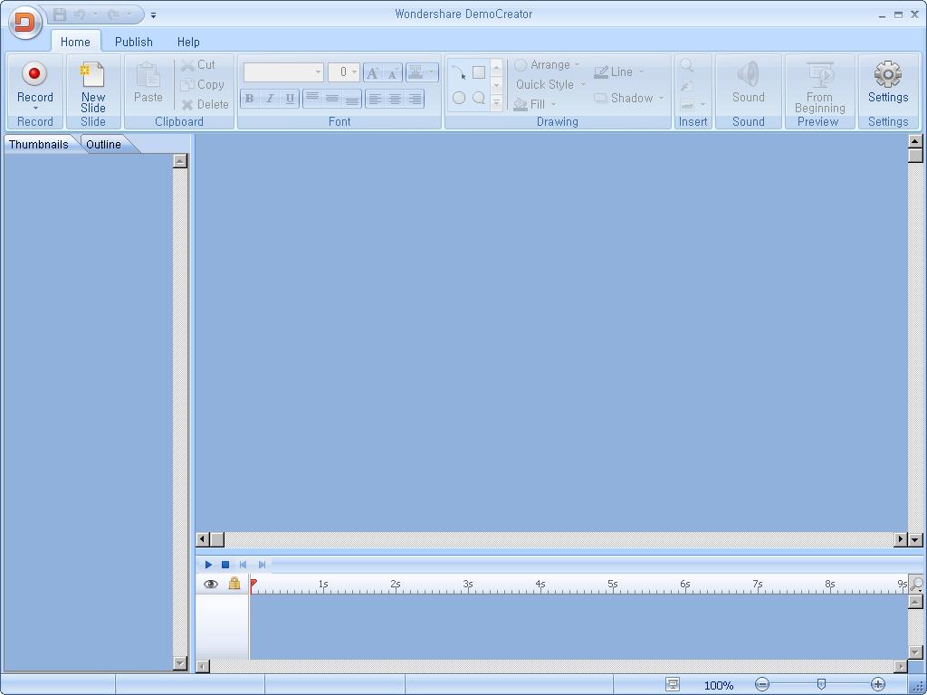 활성화한 뒤 첫 실행 화면 3 - 전체 프로그램 화면