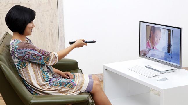 LG 일체형 PC V720 TV 기능