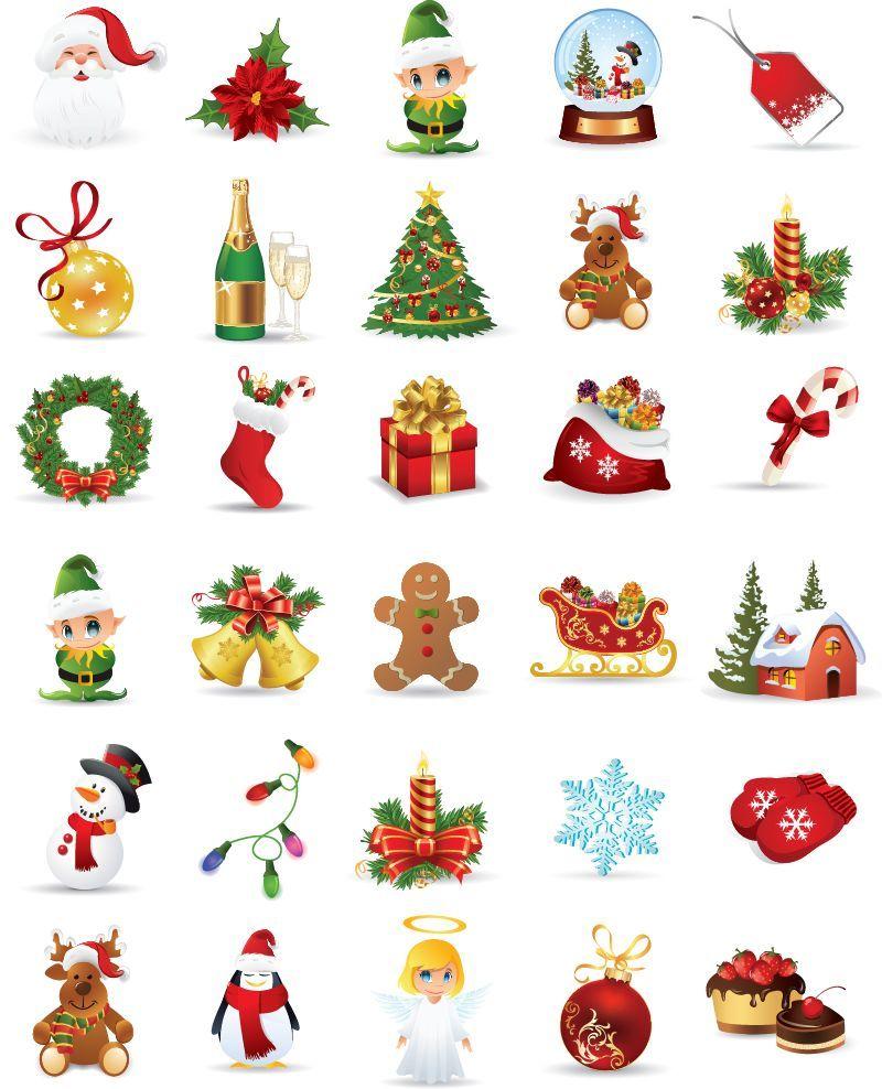 456 Best Christmas Lights Images On Pinterest: 무료일러스트이미지 디자인소스 다운로드 :: 크리스마스 아이콘 소스