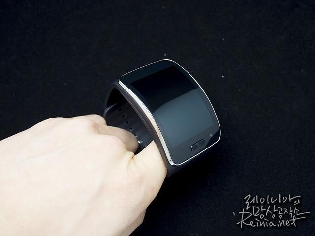 삼성 기어S 모습