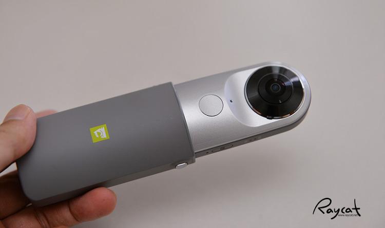 LG 360 CAM + CASE