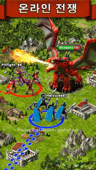 Game of War 아이폰 아이패드 온라인 전투 MMO