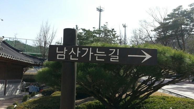 남산에 무료 헬스장이 있다???