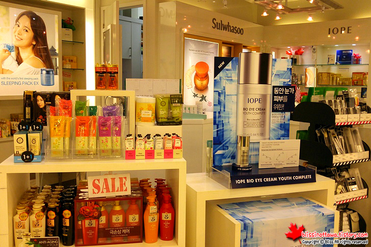 캐나다 토론토 한국 식품점 한국 화장품