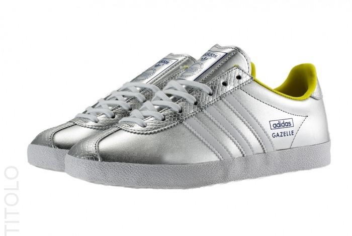 adidas gazelle weiß silber