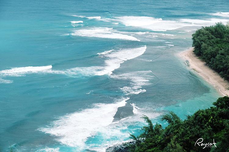 칼랄라우 트레일 해변